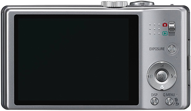 Panasonic DMC-ZS8 Lumix Digital Camera - Back