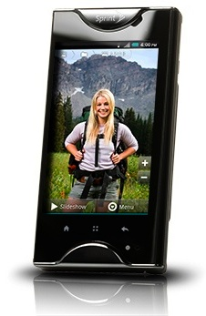 Kyocera Echo Dual-Touchscreen Smartphone - Front