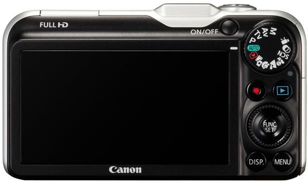 Photo of Canon PowerShot SX230 HS Digital Camera - back view
