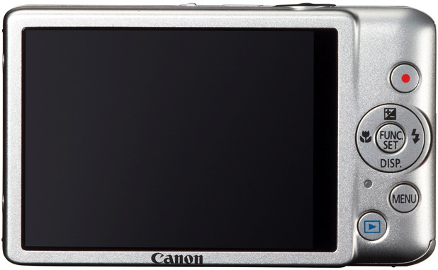 Photo of Canon PowerShot ELPH 100 HS Digital Camera - Back