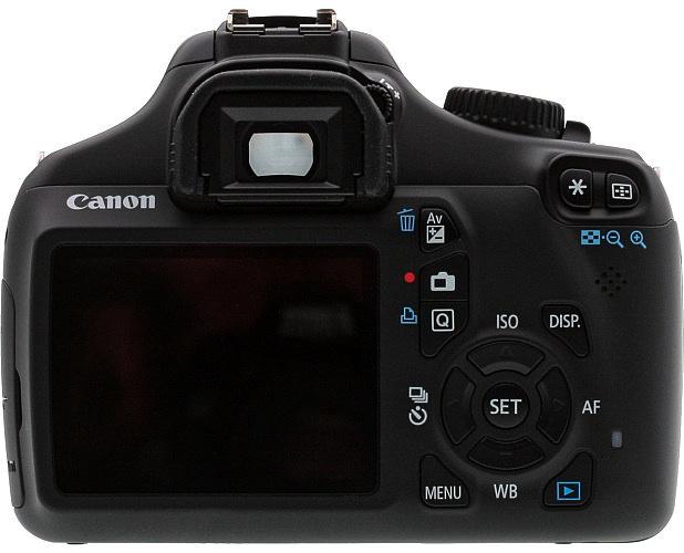 Canon EOS Rebel T3 Digital SLR Camera - Back