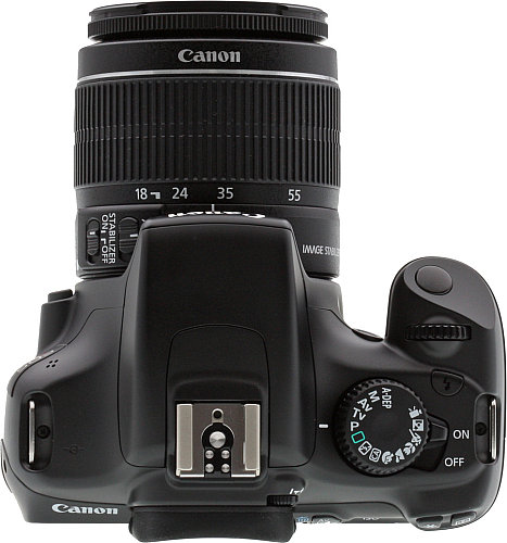 Canon EOS Rebel T3 Digital SLR Camera - Top