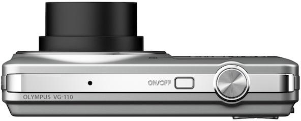 Photo of Olympus VG-110 Digital Camera - Top