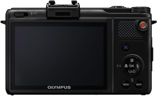 Photo of Black Olympus XZ-1 Digital Camera - Back