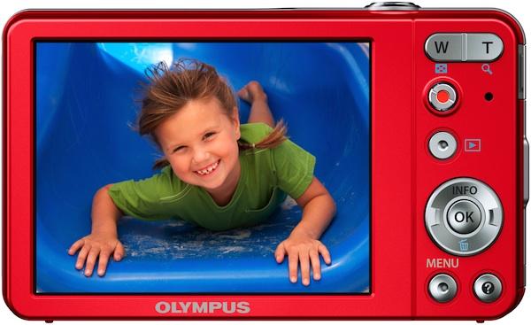 Photo of Olympus VG-120 Digital Camera - Back