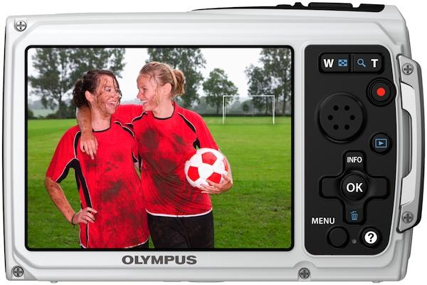 Photo of Olympus Tough TG-310 Waterproof Digital Camera - Back