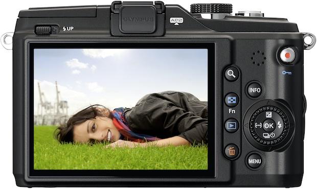 Photo of Olympus PEN E-PL2 Digital Camera - Back