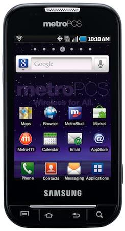 Samsung Indulge 4G LTE Smartphone - Front
