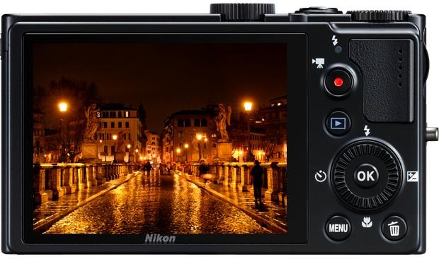 Nikon Coolpix P300 Digital Camera - Back