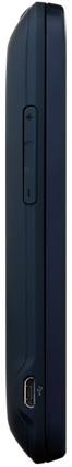 HTC EVO Shift 4G Smartphone - Side