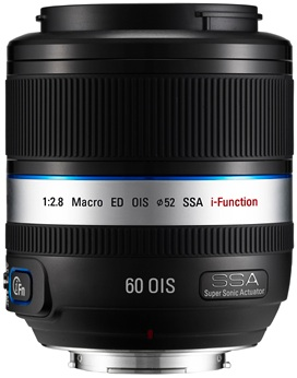 Samsung 60mm NX Series Lens