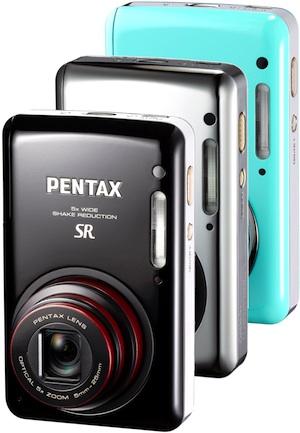 Pentax Optio S1 Digital Camera - Chrome, Green, Black
