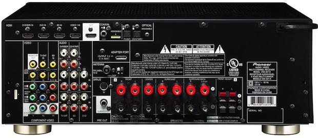 Pioneer VSX-921 A/V Receiver - Back