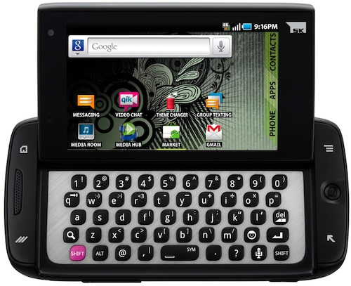 T-Mobile Sidekick 4G by Samsung - front open