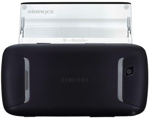 T-Mobile Sidekick 4G by Samsung - back open