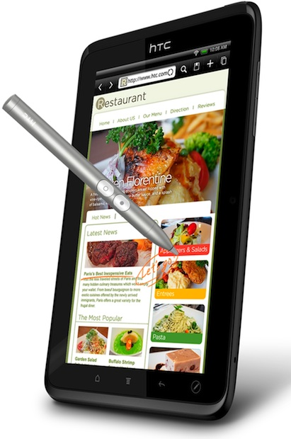 HTC EVO View 4G Tablet with Pen