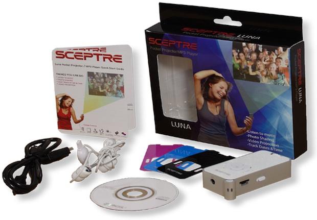 Sceptre Luna Pocket Projector