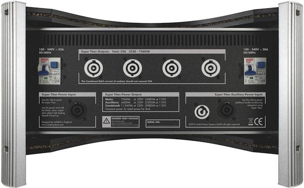 IsoTek Super Titan Power Conditioner - Back