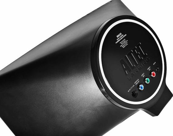 Altec Lansing Octiv 650 iPod Speaker Dock - Back