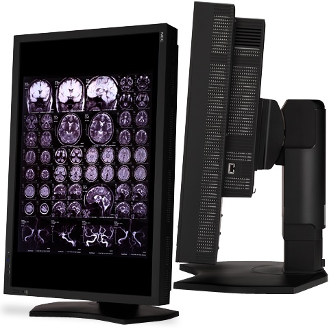 NEC MultiSync MD301C4 30-inch LCD Monitor - side