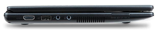Acer Chromebook - left side