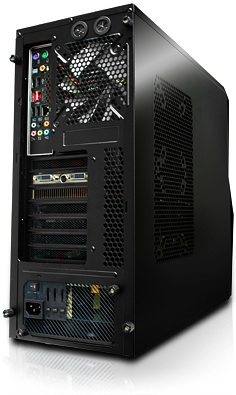 iBUYPOWER Z68 Desktop PC - back